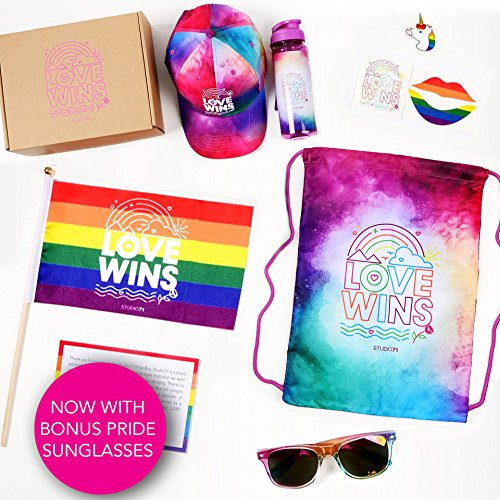Studio71 S71 LGBT Gay Lesbian Pride Box (with BONUS - Gay Sunglasses