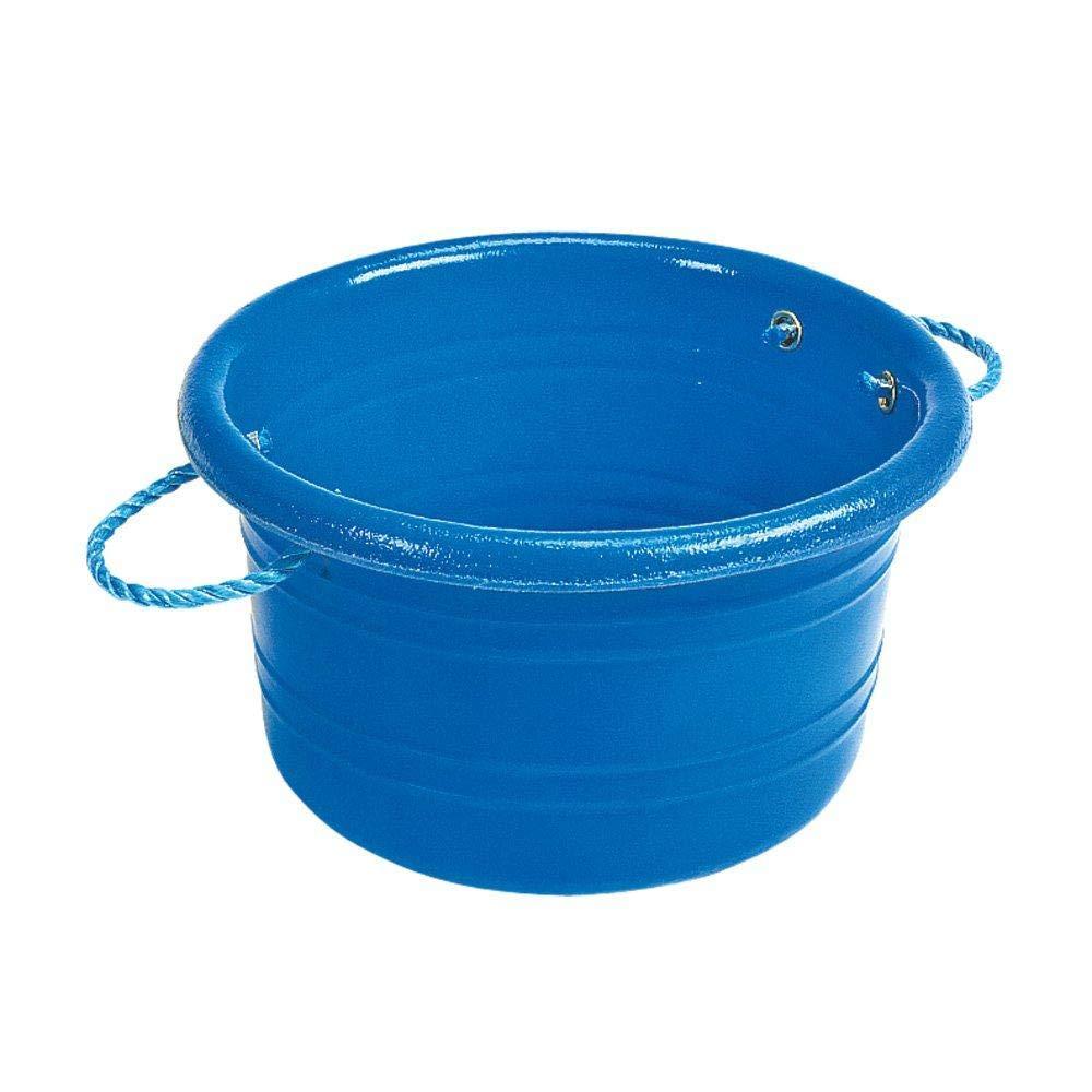 Stubbs Medium Manure Bucket (One Size) (Blue)