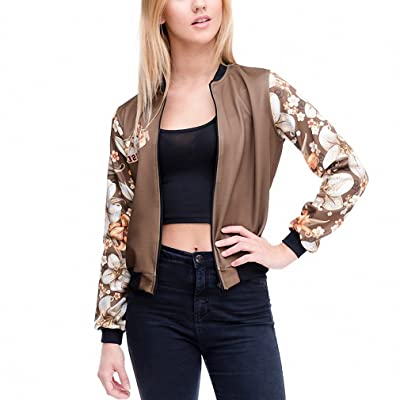 69237b07f2a Brand Women Bomber Jacket 3D Printed Paradise Vintage Short Jacket Outwear Coats  Teenager Basic Jackets