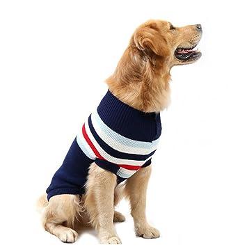 Strickpullover mit Rollkragen, für Hunde / Haustiere, warm ...