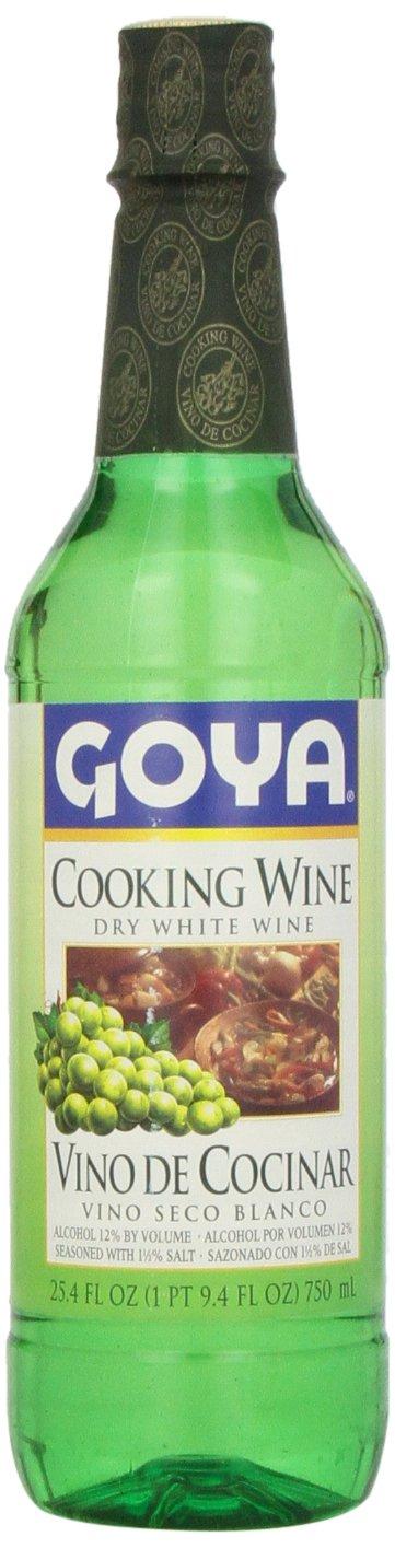 Goya Dry White Cooking Wine (Vino Seco Blanco) 25.4 OZ by Goya