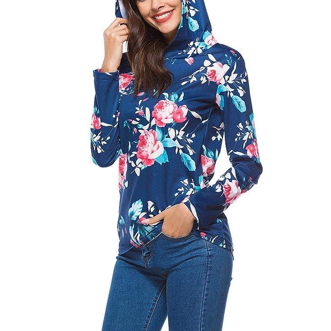 ... Sudaderas con Capucha Manga Larga Suéter Capa Encapuchado Tops Camiseta Blusa del Vintage del Ocasionales Pullover Outwear: Amazon.es: Ropa y accesorios