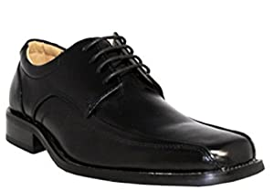 NXT Italy Collection Mens Wide Shoes Lace Up Black # N2353 (11 2E)