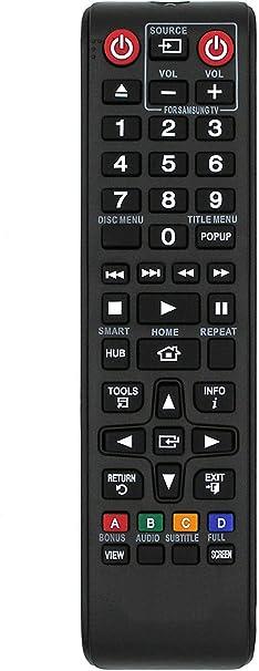 Ersatz Fernbedienung für Samsung Blu-RayBD-J7500TKBD-P1400BD-P1500