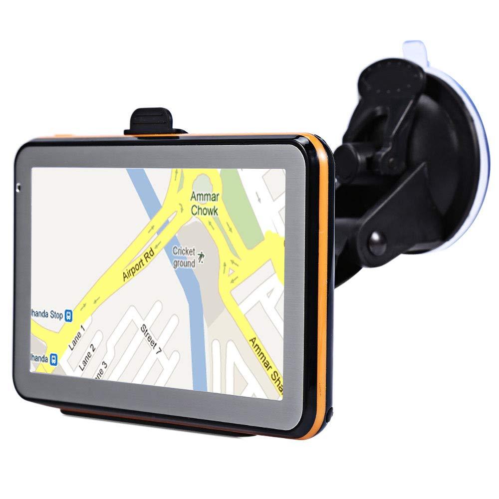 TOOGOO écran de Résistance du Navigateur GPS de Voiture de 5 Pouces écran de Pression Appareil de Navigation de Conduite de Voix 8G 256Mb Mp3/Mp4 Carte de L'Amérique du Sud