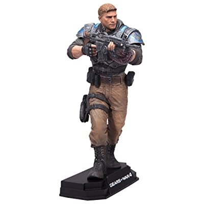 "McFarlane Toys Gears of War 4 JD Fenix 7"" Collectible Action Figure: Toys & Games"