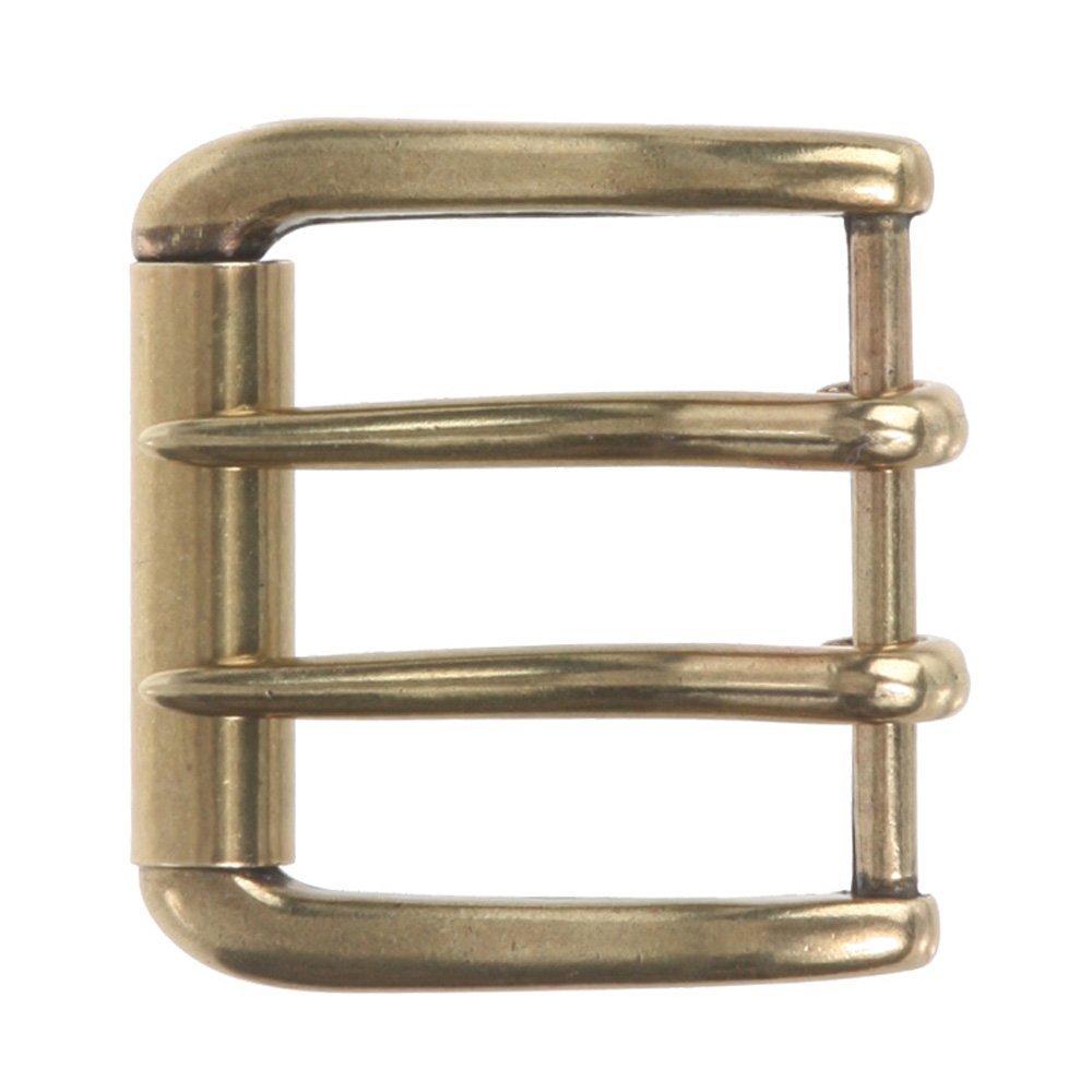 beltiscool Men's Double Prong Square Roller Belt Buckle