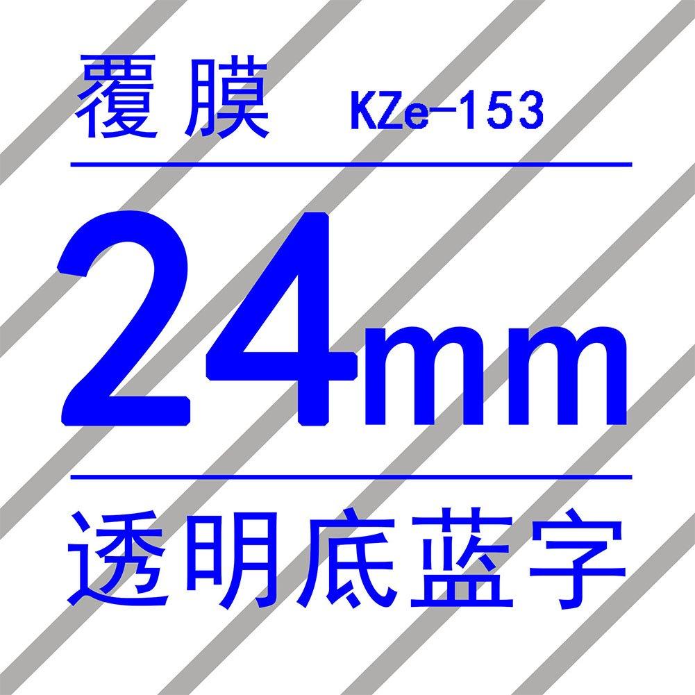 para Brother PT Series 24 mm Ocamo PT-P700 Cinta adhesiva para impresora de matr/ícula