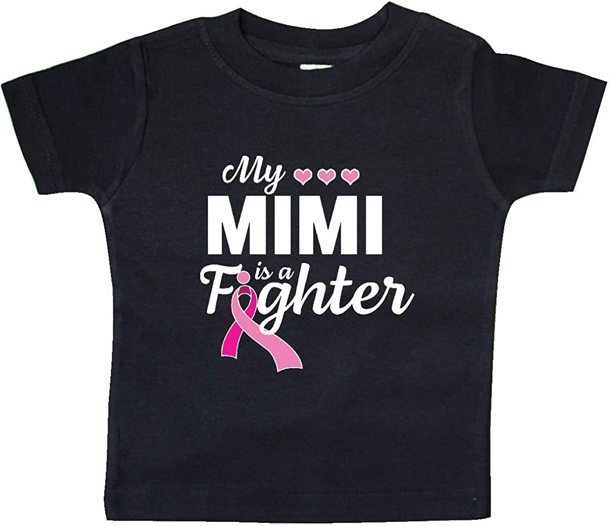 inktastic My Mimis Fight is My Fight Breast Cancer Awareness Baby T-Shirt