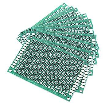 Amazon.com: Utini 30 piezas 1.575 x 2.362 in FR-4 0.100 in ...