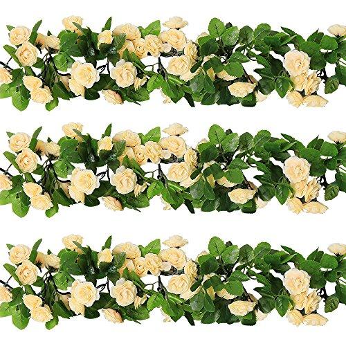 Flower Garlands For Weddings: Flower Garlands Decorations: Amazon.com