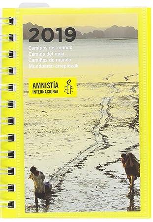 Grupo Erik Editores AGEDP1907 - Agenda anual 2019 con diseño Amnistia Internacional, día pagina