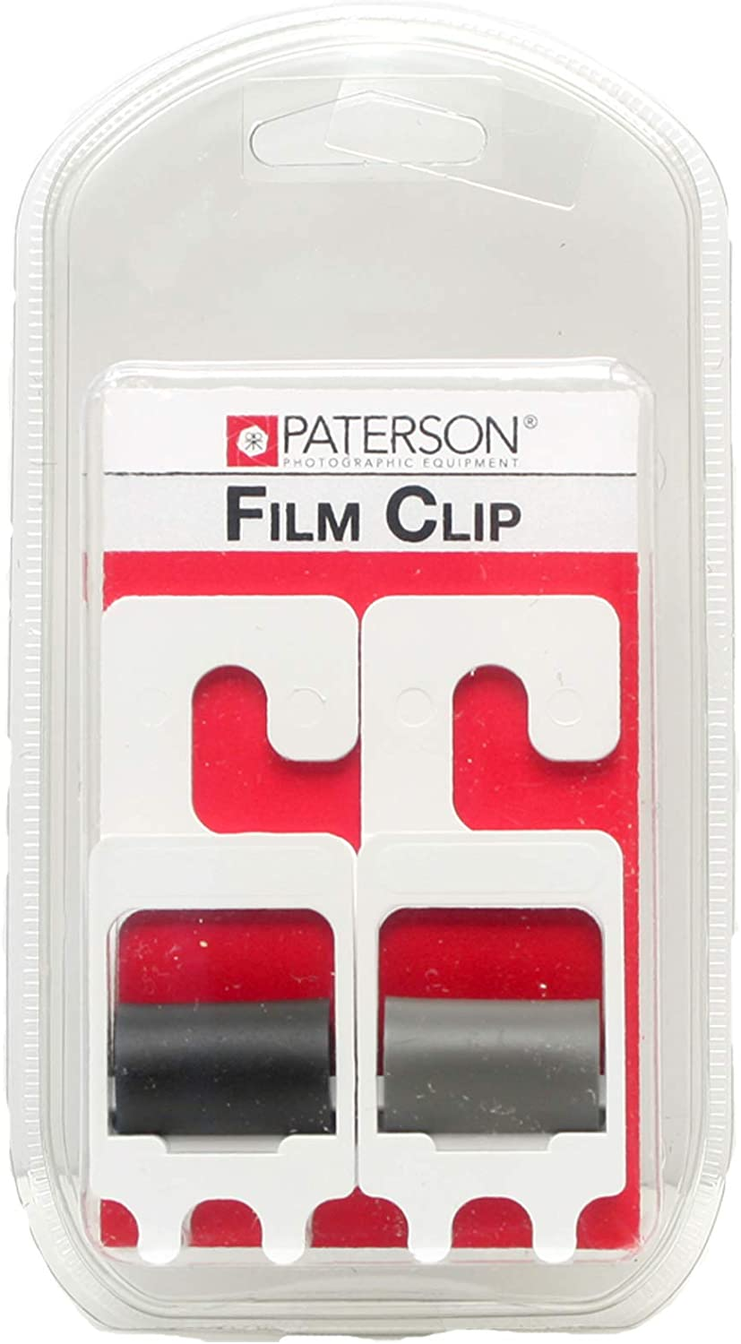 Set of 2 Film Developing Clips Heavy Duty Stainless Steel