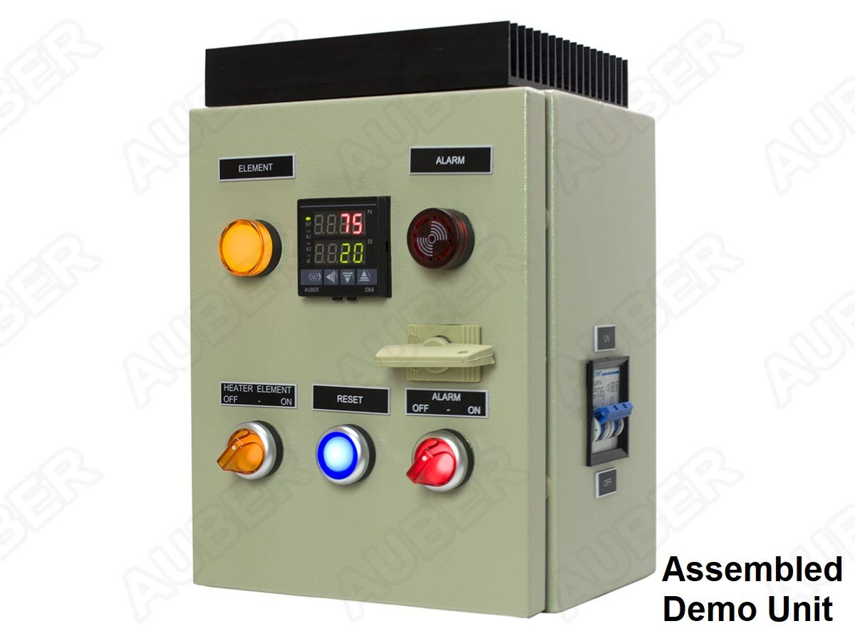 Powder Coating Oven Controller Kit 240v 30a 7200w Pid Wiring Diagram Kiln Pco Industrial Scientific