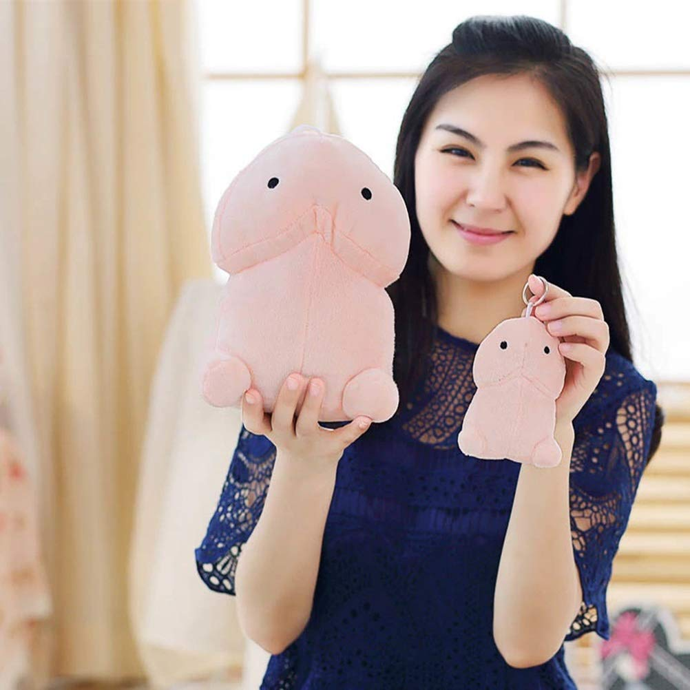 Stuffed Animals Creative Plush Penis Toy Doll Funny Soft Stuffed Plush Simulation Penis Pillow Cute Sexy Kawaii Toy Gift for Girlfriend - 30cm by LQT Ltd (Image #1)