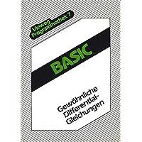 BASIC. Gewöhnliche Differentialgleichungen