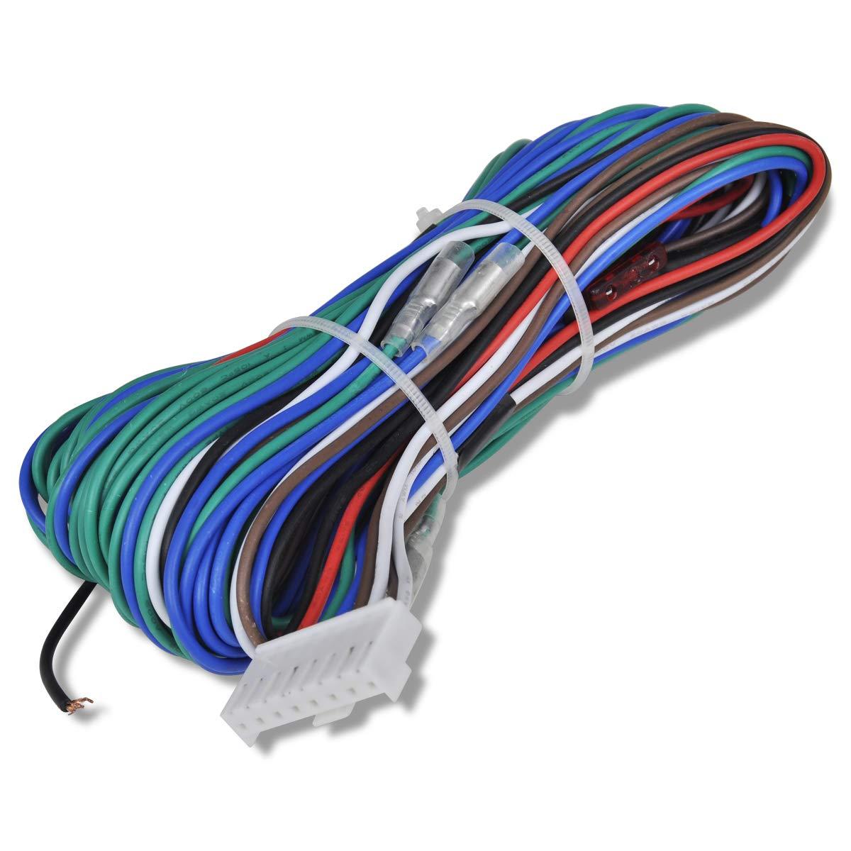 vidaXL Universal Auto Zentralverriegelung Funkfernbedienung f/ür 2//4 T/ürer