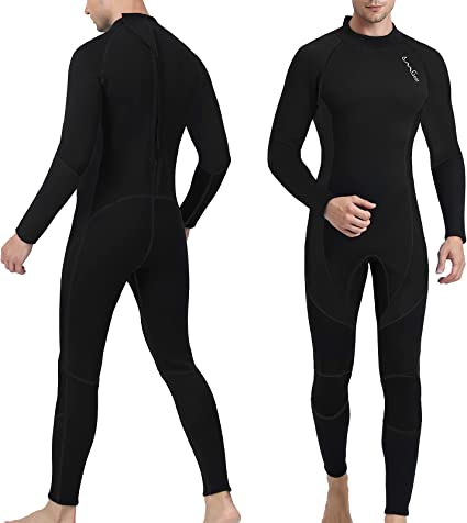Tbest Swimsuit,Diving Swimsuit,Diving Wetsuit,3MM Diving One-Piece Swimsuit Wetsuit Long Sleeve for Snorkeling Surfing