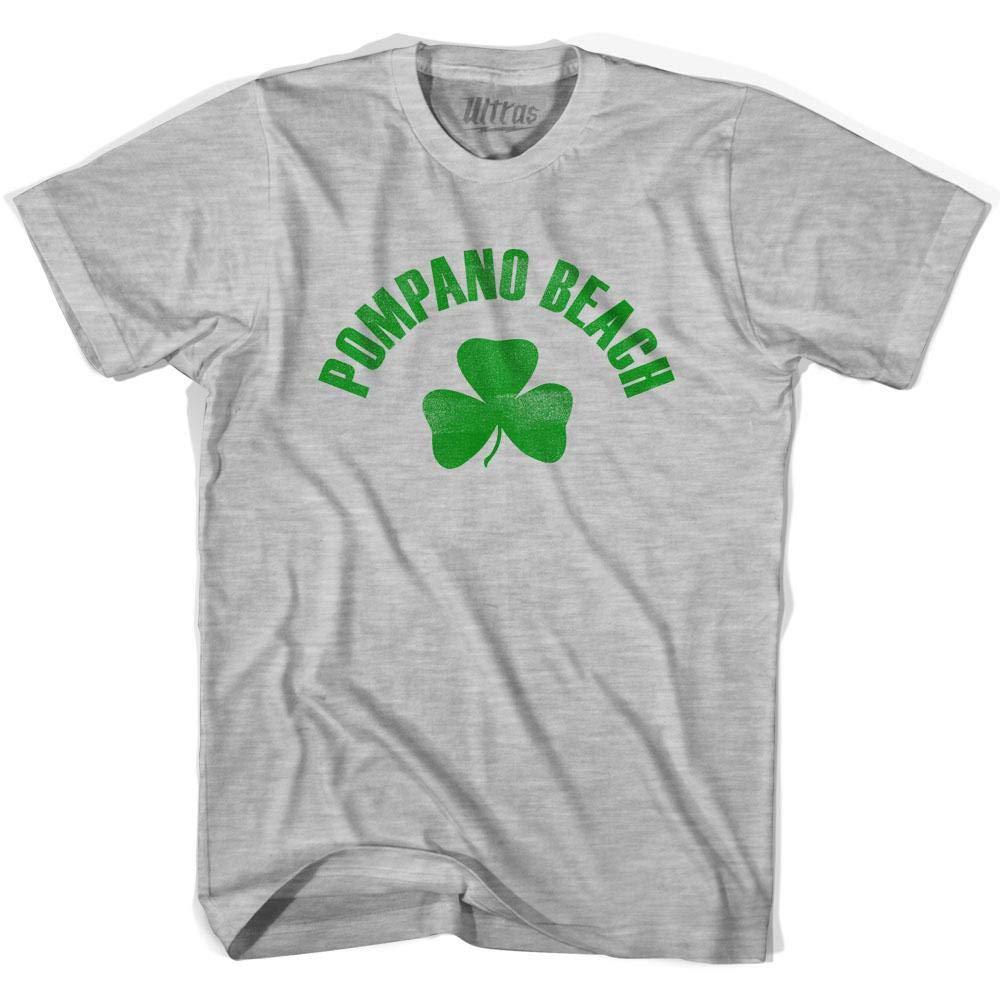 Ultras Pompano Beach City Shamrock Cotton T-Shirt