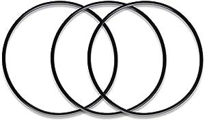 "iSpring O-Ring for 10"" Water Filter Housing Sump Oring Set of 3#ORFx3"