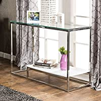 247SHOPATHOME Idf-4231WH-S, sofa table, White