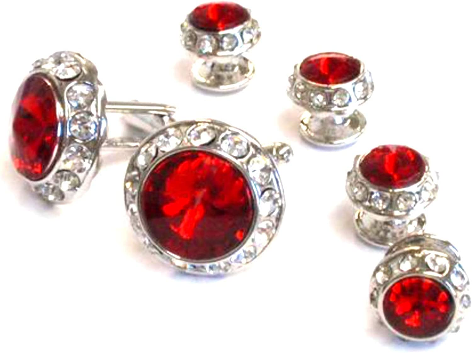 original gift for anniversary italian Red silver cufflinks Red square cufflinks Trendy jewelry for men