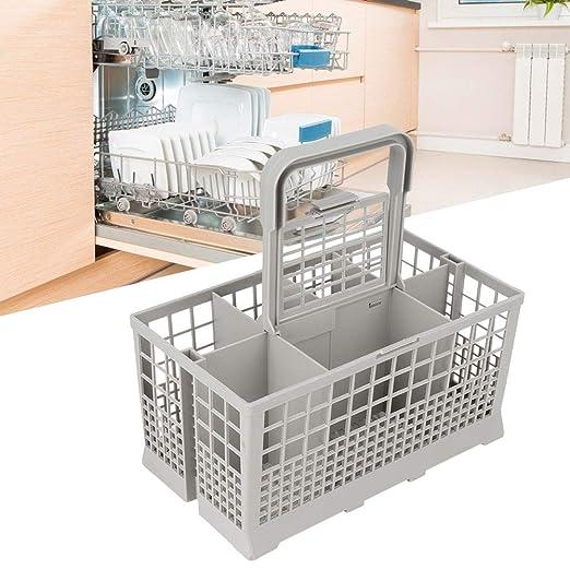 Duokon Cesto para lavavajillas, Cocina doméstica Cesto de ...