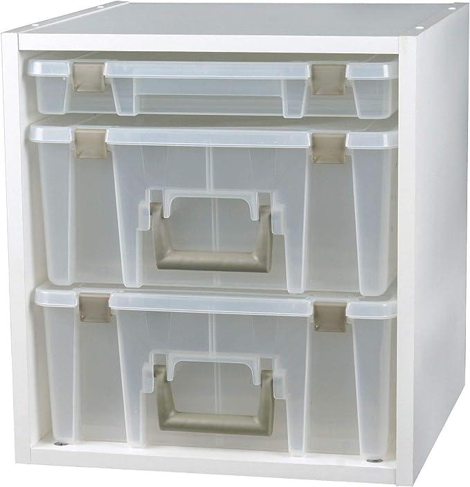 ArtBin Super Satchel Cube Casters-4//Pkg