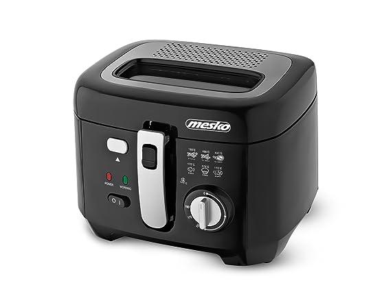 Mesko MS-4908 - Freidora con recipiente para el aceite desmontable de 2,5 l, 1800 W: Amazon.es: Hogar