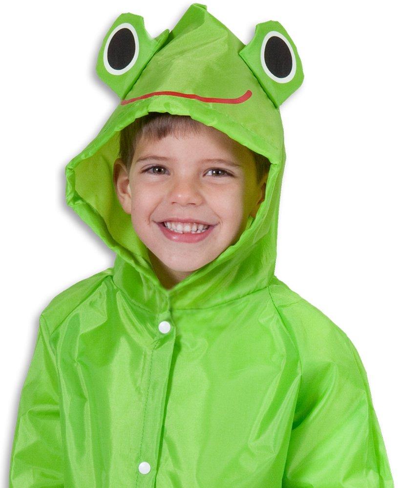 Cloudnine Children's Froggy Raincoat, for ages 5-12 One size fits all (2 Pack) Cloudnine Umbrellas