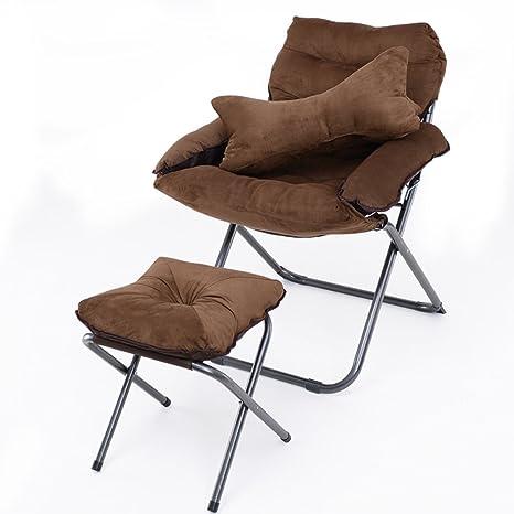 GWW Cómodas tumbonas, Dormitorio Plegable sillas Piscina sillas para ...