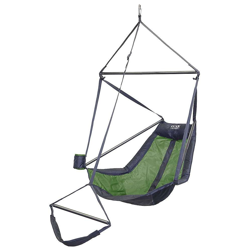 ENO Eagles Nest Outfitters - Lounger Hanging Chair, Lime/Charcoal