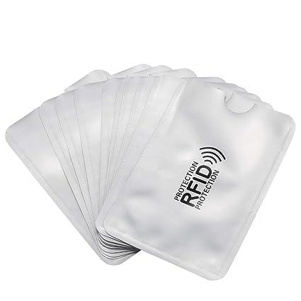 Fauge 10Pzs Cubierta de Tarjeta Anti-Desmagnetizacion de ...