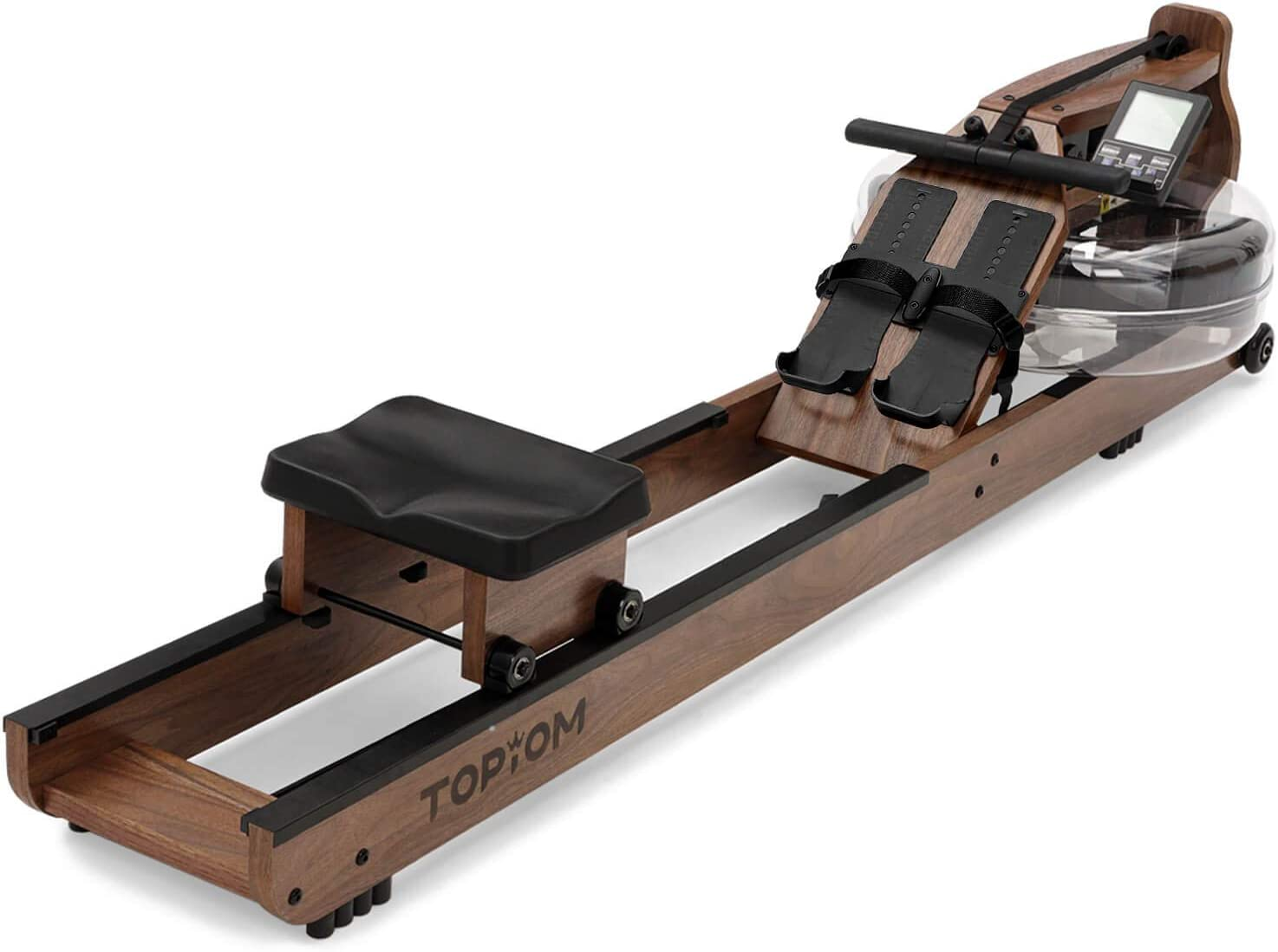 Topiom Water Rowing Machine - Full view image