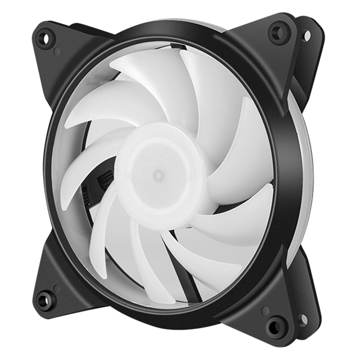 upHere 6-Pack 120mm Silent Intelligent Control Addressable RGB Fan Adjustable Colorful Fans with Controller and Remote,T6C63-6 by upHere (Image #4)
