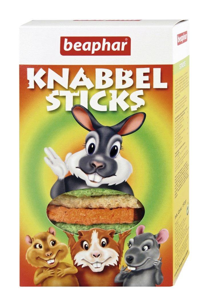 Beaphar - Knabbel Sticks, friandises extrudés à grignoter - rongeur - 150 g 8710729090313 friandises rongeur