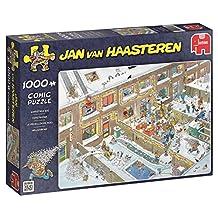 "Jan van Haasteren ""Christmas Eve"" jigsaw Puzzle (1000-Piece)"
