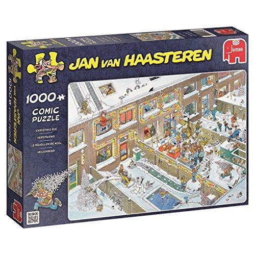 Jumbo Jan van Haasteren - Christmas Eve 1000 Piece Jigsaw Puzzle