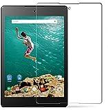 Lakko Google/HTC Nexus9 2014 強化ガラスフィルム 液晶保護 8.9インチ 飛散防止