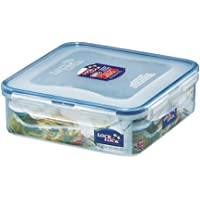 Lock & Lock Classic Stackable Airtight Square Food Container, 1.6L
