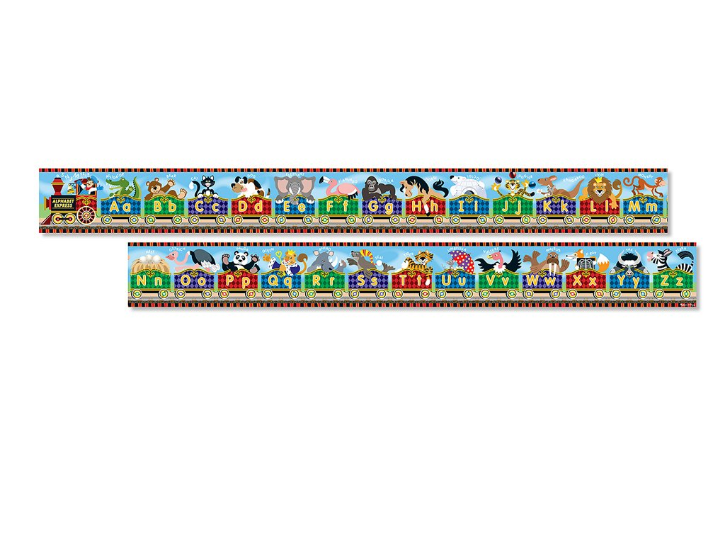 Melissa & Doug Alphabet Express Jumbo Jigsaw Floor Puzzle (27 pcs, 10 feet long) by Melissa & Doug (Image #2)