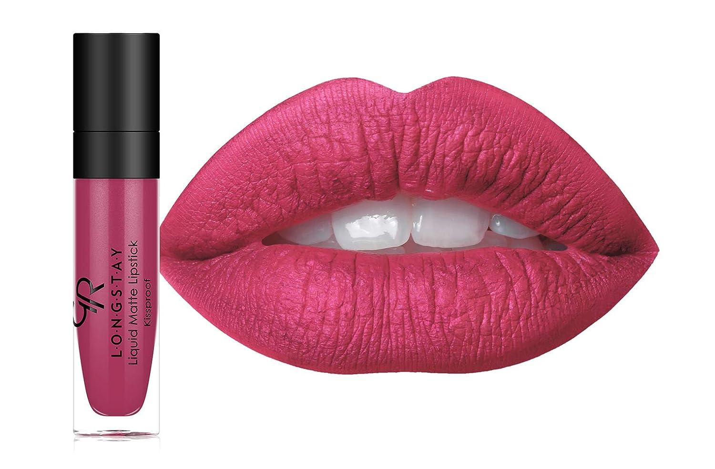 Amazoncom Golden Rose Long Wearing Longstay Liquid Matte Lipstick