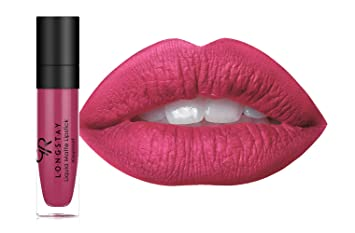Golden Rose Long Wearing Longstay Liquid Matte Lipstick 07 Deep Bubblegum