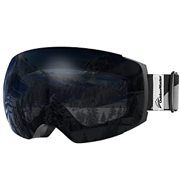 ski goggles black  Amazon.com : OutdoorMaster Ski Goggles PRO - Frameless ...