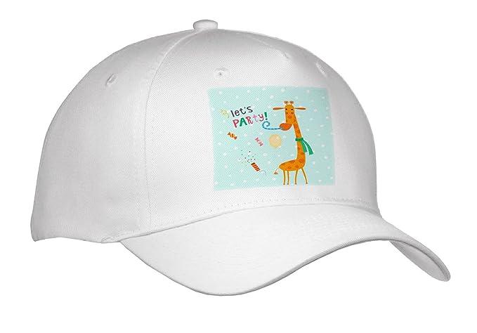 129e557ea20 Uta Naumann Sayings and Typography - Cute Baby Safari Giraffe Typography On  Blue Polkadots - Lets