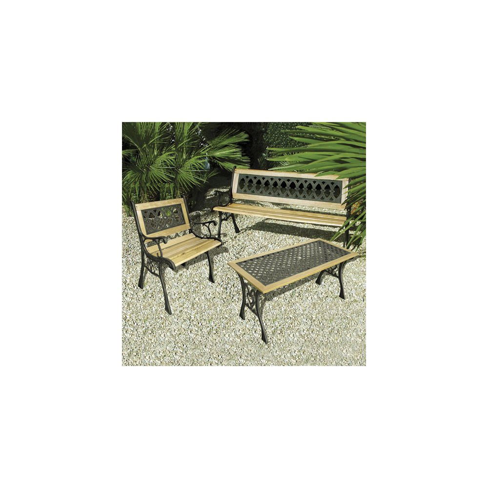 Papillon Table de Jardin Papillon 8042454 Dorée