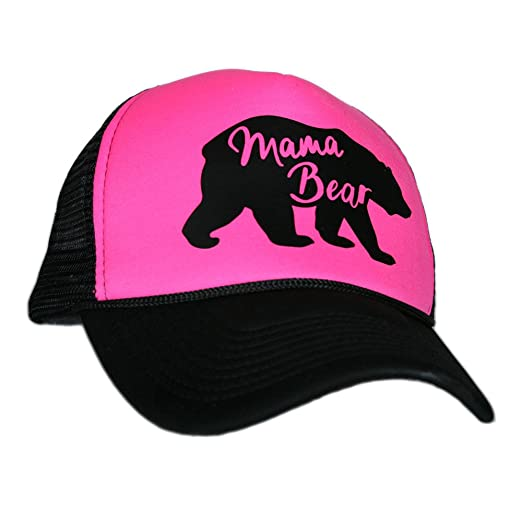 247188a3cb0 Amazon.com  Mama Bear Trucker Hat Cap for Women by Katydid  Clothing