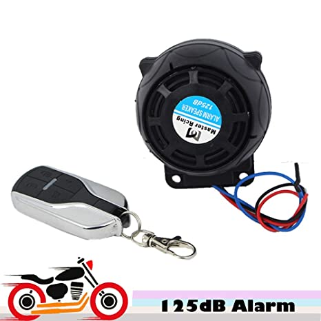 Cacys-Store - 9-16v 125dB Motorcycle Scooter Alarm Moto ...