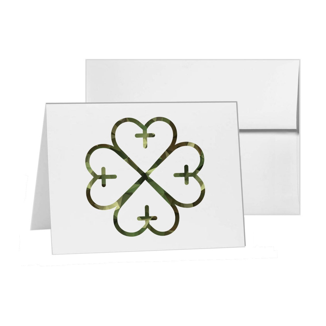 Gods 保護サイン 保護プロテクター 宗教 白紙カード 招待状パック カード15枚4×6インチ 白封筒付き 商品994200 B07CN9P4KV