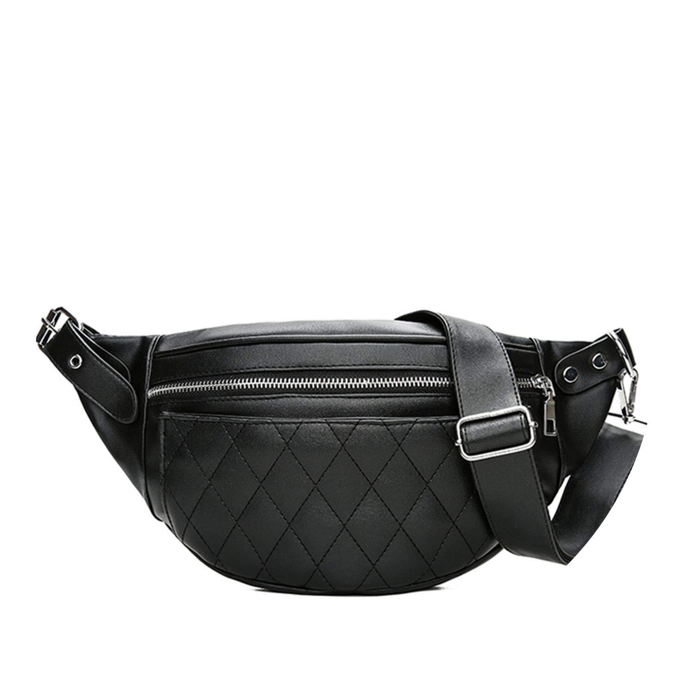 Amazon.com: Leather Waist Belt Bag P Pattern Belt Pack Waist ...